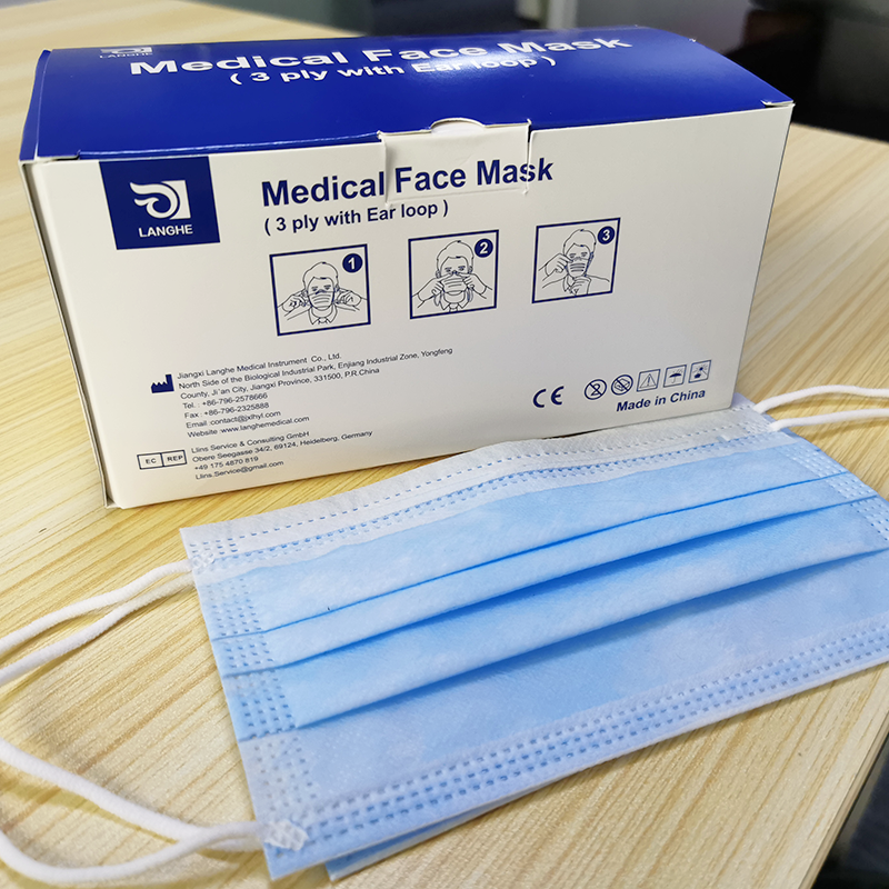 50 pcs Disposable 3 layers Face mask