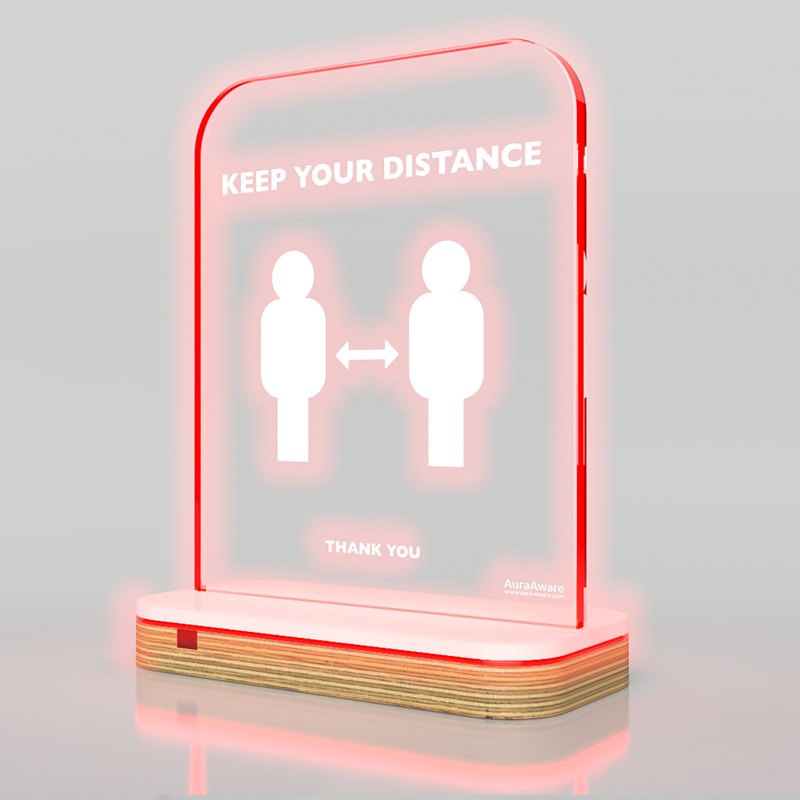 Smart distance alert system – Patented technology